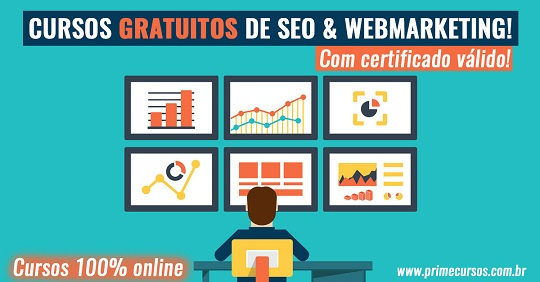 Cursos Gratuitos de SEO e Webmarketing