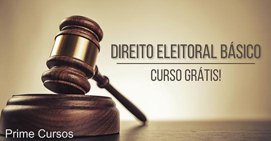 Curso grátis de Direito Eleitoral Básico