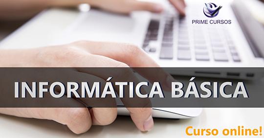 Curso De Informática Básica Online Grátis Prime Cursos