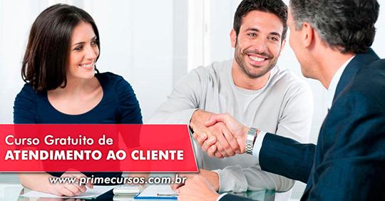 590b5b2bbd Curso de Atendimento ao Cliente Online Grátis