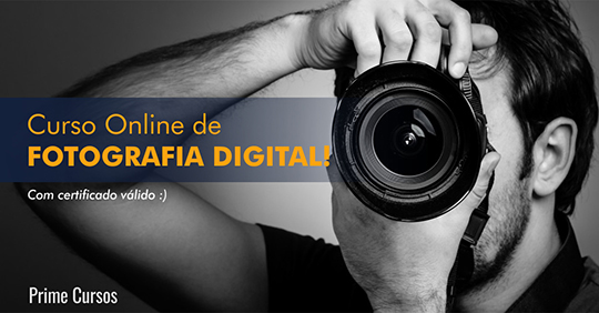 Curso grátis de Fotografia Digital