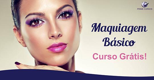 Curso Grátis de Maquiagem Básica