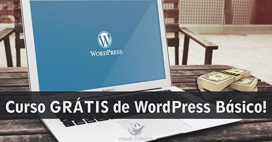 Curso Grátis de Wordpress Básico