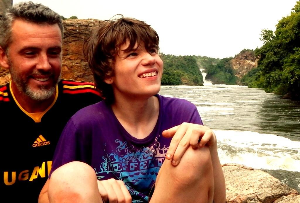 O Pai James e o filho Sam (Créditos da foto James Best)