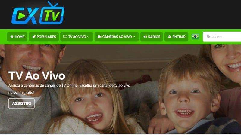 No Cx-TV é possível encontrar sinais de tv aberta de outros países, além dos famosos canais da tv a cabo fechado que vão desde desenhos até filmes e séries.