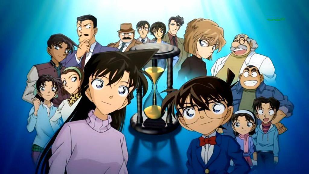 mangá detective Conan