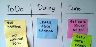 o Kanban tradicional conta com 3 etapas diferentes para organizar e otimizar a produção